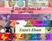 Custom Banner and avatar for your shop or blog