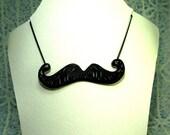 Cheeky Moustache Necklace