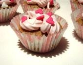 Gourmet Dog Treats - Cotton Candy PupCakes - Organic Dog Treats All Natural Cupcakes Vegetarian Dog Treats - Shorty's Gourmet Treats