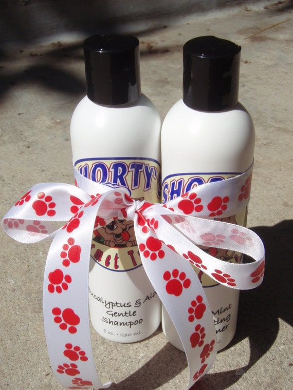 Natural Botanical Doggie Shampoo and Conditioners - Shorty's Gourmet Treats
