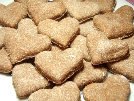 Organic Dog Treats - Healthy Hearts- All Natural Dog Treats Organic Vegetarian - Shorty's Gourmet Treats