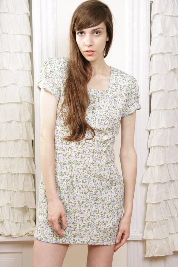 Jaime Morning Dew Floral Dress S / M