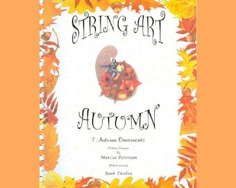 Autumn String Art PATTERN Book 12 in DIGITAL DOWNLOAD