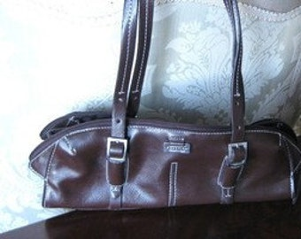 Kenneth Cole  Step Forward Small  Handbag  1990s Worldwide Shipping  On Clearance Now