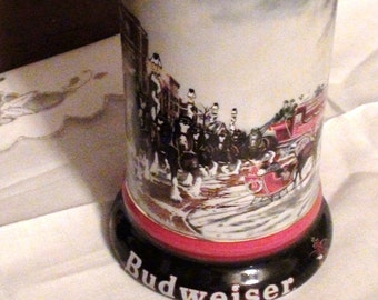 Susan Sampson Stein 7 X 4 Budwiser Mug Excellent Condition 1990s Holliday  on SaLe Now
