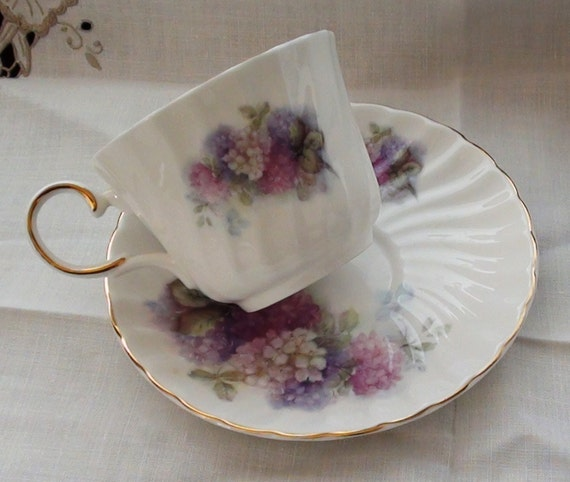 ROYAL Patrician Fine Bone China Tea Cup and Saucer Made in