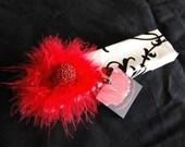 Black and White Scroll  - bracelet gift box