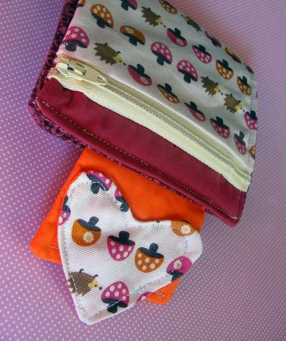 Lovely Hedgehog Wallet