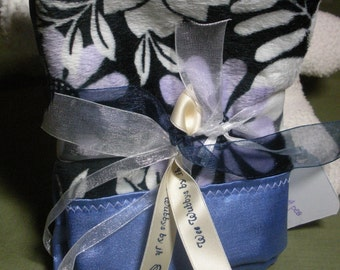 Wee Wubby Set- Floral in blues and violets