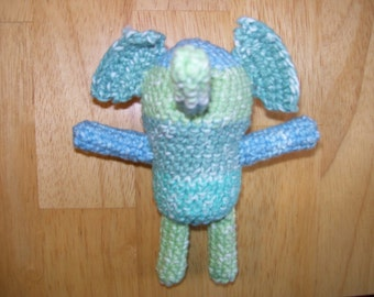 Amigurumi Elephant catnip toy