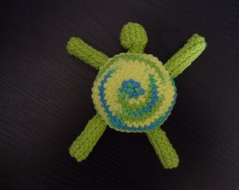 Amigurumi Turtle Dog toy