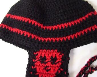 Skull Earflap hat