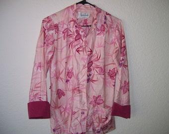 Pink hawaii blouse