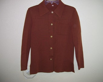 1970's brown sweater