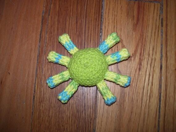 Amigurumi Tarantula catnip toy