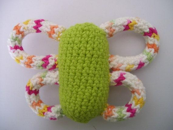 Amigurumi Butterfly Dog toy