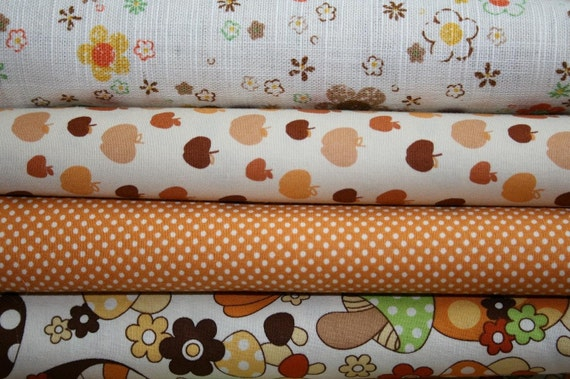 Beige delight  bundle II edition half yards