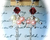Hearts & Pearls Earrings