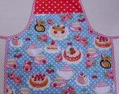 SALE - Teatime childrens apron