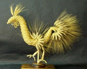 Straw Art Rooster