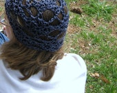 easy spring summer lace open Ephemeral Hat - pattern only by Anastacia Knits