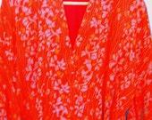 Vintage Japanese Silk Kimono OOAK