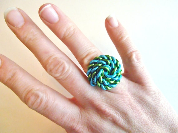 Sailor Knot Ring Custom Made Wire Ring