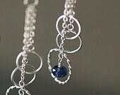 Sale - Kyanite Ring Earrings