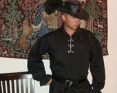 Men's Renaissance Pirate Shirt in your choice of color