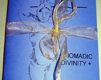 Nomadic Divinity poetry chapbook (Venus violet)