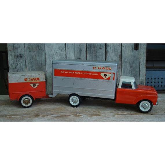 Nylint U-Haul Truck And Trailer