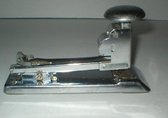 ace clipper stapler how to open