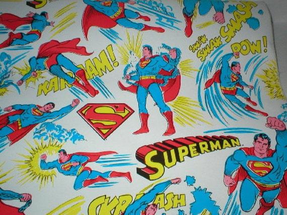 Superman Contact Paper  Super Hero Rare