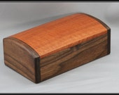 Walnut & Red Gum Eucalyptus Keepsake / Jewelry Box