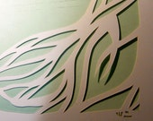 Classic Papercut - large format for Ketubah and Wedding Certificate elements