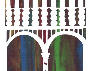 Hanukkah Spirit Cards - set of 6 printed cards