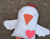 Lily the Chicken Tooth Fairy Pocket Plush
