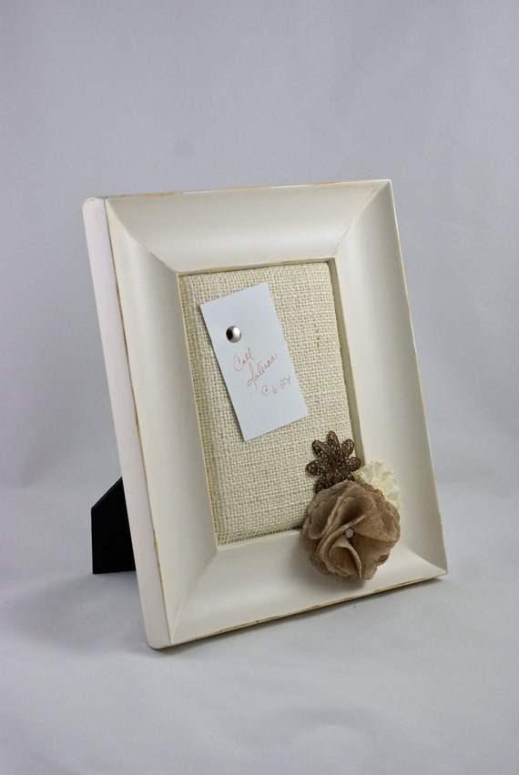 Vintage Style Personal Framed Tack Board