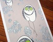 The Owl Eyes Series Print in 2 colors