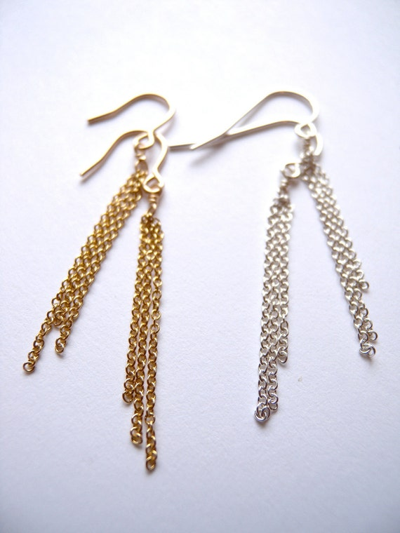 Fringe Earrings SILVER