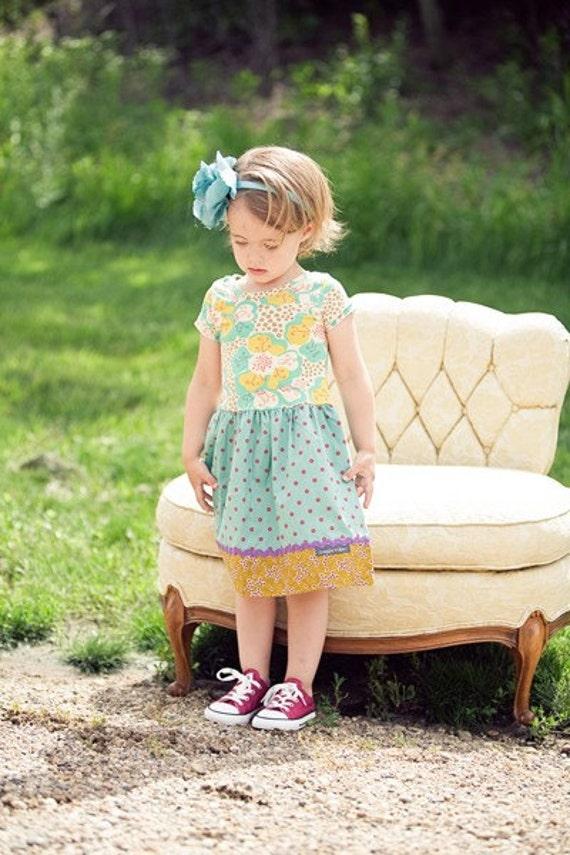 SALE 3T Little Miss Dot Dress
