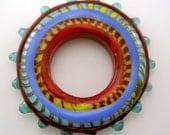 Big Hole Disc Bead or Pendant