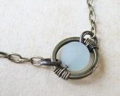 Center Circle Necklace