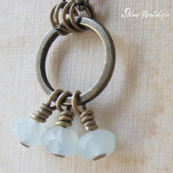 Tre Blues Necklace