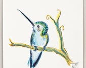 Hummingbird Original Fine Art Illustration