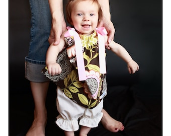 Baby Girl Pillowcase Dress Amy Butler Lotus Lacework