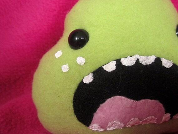 SALE Kawaii Monster Plush - Weird Plush Stuffed Dinosaur