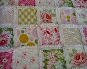 Rag Quilt PDF Pattern Directions  Learn how to make your own rag quilt, it's so easy