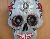 Sugar Skull wall art  'Jag'