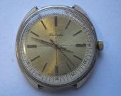 VERY Rare USSR Watch RAKETA LARGE CASE 60's PERFECT W/ stopwatch ,